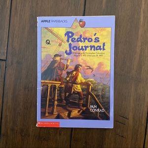 ⭐️ Pedro's Journal: Voyage w Columbus (Paperback)